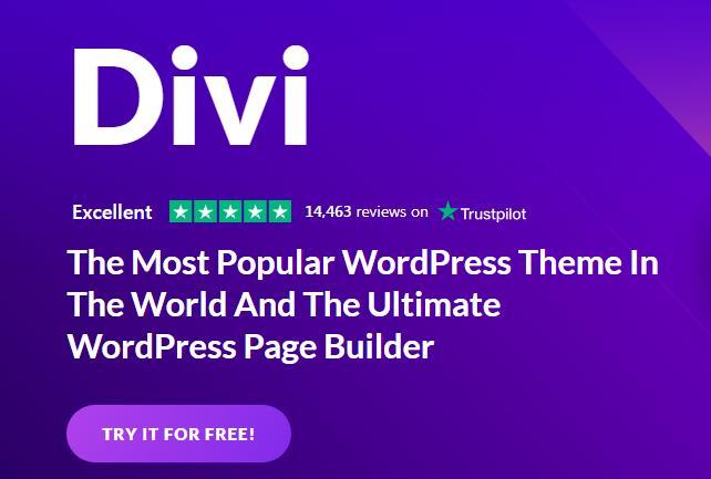Divi Builder一款国外非常受欢迎的WordPress主题和页面构建器